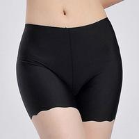 2014 New Panties 3pcs/lot  Wholesale Seamless Ice Silk Women Underwear Sexy Anti-emptied Girls 5color