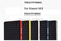 Quality Neo Hybird Case For Xiaomi Mi 3 Mi3 Al.alloy Frame+Silicone Cover Fashion Style,Free Gift & Shipping