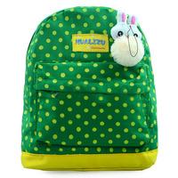 Kindergarten children cartoon backpack canvas small bag cute little bunny schoolbag boy girl gift items