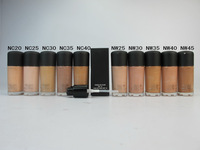 Free DHL/EMS 30pcs/lot Brand MC Makeup STUDIO FIX Liquid FOUNDATION 30ML WITH PUMP