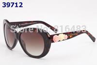 New 2015 Brand  DG4183 Fashion Designer women Sunglasses Vintage eyewear Vogue glasses Best quality brown free shipping