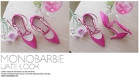 Fashion pointed sexy joker lovely stiletto heel single shoes