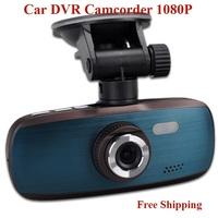 Full HD 30fps1080P  Car DVR Video Camera Recorder G1W  Novatek NT96650 Chipset  H.264 + 1080P 30FPS + G-Sensor Free Shipping