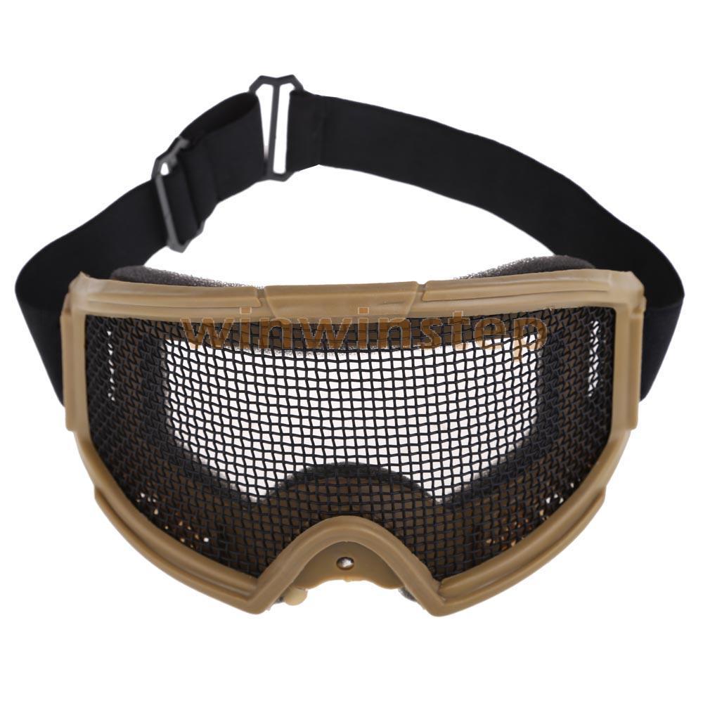 Бс-s # S страйкбол тактический металлических сеток глаза-защиты защитные очки очки