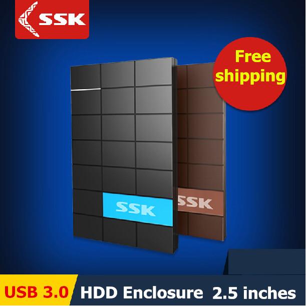 SSK USB 3.0 HDD Enclosure 2.5 Inch SATA HDD CASE Serial port hard disk box Support 1TB External Harddisk HD