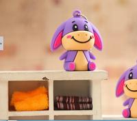 Wholesale New Cartoon Little Donkey USB Flash Drive 64GB/8GB/16GB/32GB Memory Stick USB2.0