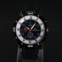 V6 Men Military Rubber Strap Sport Watches Watch  Analog Wristwatch large dial Climbing Quartz watch New 2014