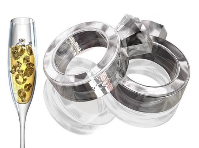 Ferramentas Diamond Ring molde de gelo de silicone molde do bolo Ferramentas Cookie Cutter Bandeja Ice Cream Mould Bakeware 50042(China (Mainland))