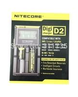 Nitecore D2 Universal LCD Digicharger for 16340 26650 18650 18350 AA Li-ion Battery