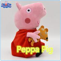 19cm Hot Sale Peppa Pig Pepa Plush Kids Toy Best Quality Baby Stuffed Animals Dolls Gift