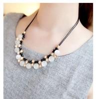Korea fashion jewelry jewelry classic all-match opal elegant Juesu female Necklace