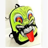 Hot sale  2014 new fashion shoulder bag mask grimace  --Free shipping