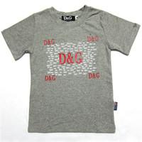Retail  Brand  2014   New  summer  fashion  children's   shirt  print  pattern  turn-down  collar   short  sleeve  boy's short