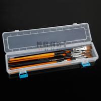 Plastic Transparent Watercolor Pencil Case Gouache / Watercolor Pencil Case / Pencil Box Oil Paint Box Art Supplies Stationery