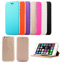 stand design thin case for iphone 6 6G,new arrival luxury PU leather cover,fashion 4.7 inch mobile phone bag for apple 6