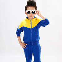 Children's clothing male child autumn child sports casual set 2014 female child spring and autumn kids clothes