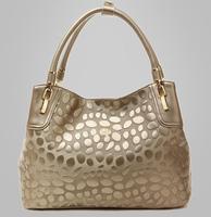 Free Shipping Guarantee 100% Genuine Leather Handbags Women Famous Brands Designer Vintage Bags Women Cowhide Bags 0807