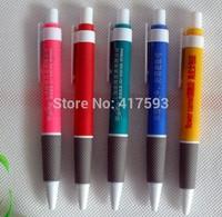 New Advertising pen ballpoint pen printing customize printed logo gift pen exhibition  meeting ballpoint pen 100pcs/lot