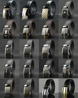 Men Genuine Real Leather Belt designer brand trouser Automatic buckle belts for male New Arrival