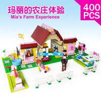 Bela Building Blocks Hot Toy Mia's Farm Experience Construction Educational Bricks Toys for Girls Compatible Blocks
