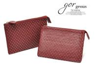 Korean Style PU Leather Fashion Handbag Designer Rivet Lady Wallet Clutch Purse Drop Shipping Mini Bag Women Handbags C016