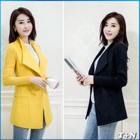 New Arrival Europe Brand Women's Winter Coats Jacket Woollen Women Casacos Femininos Plus Size Overcoat