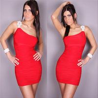 free shipping sleeveless mini club dress plus size sexy designer sheath summer dress 2014