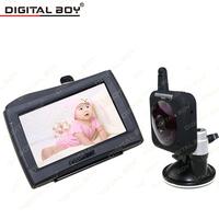 "Digital Boy Baba Eletronica 4.3"" Car Cam Monitor 2.4G Wireless Video Baby Monitors Security Camera Nigh Vision"
