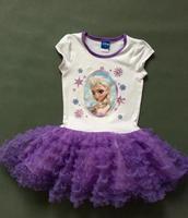 girls  frozen clothing dresschildren frozen elsa and anna summer  clothes dresses girl dress princess