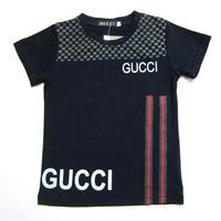 Retail  Brand  2014   New  summer fashion  children's shirt letter  pattern  O-Neck   short  sleeve  boy's short free shipping