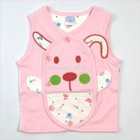 baby clothing 100% cotton newborn infant  vest outerwear coat tank top waistcoat underwaist sleeveless shirt for Spring & Autumn