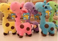 2014 new chirstmas giftThe giraffe plush toy deer sika deer baby plush dolls toys for children