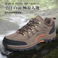 Camel men's 2014 new autumn fashion camel  slip-resistant wear-resistant outdoor walking shoes male brand shoes genuine leather