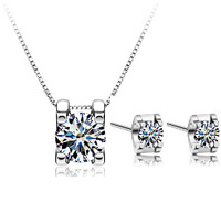 100% 925 Silver Jewelry Sets Sterling Silver Jewelry set for Women Only You Star Set Free Shipping