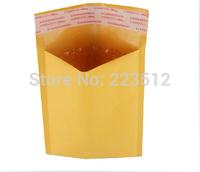 10pcs Wholesale yellow kraft bubble envelope bag bags 15cm * 18cm + 40mm