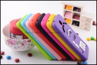 Colorful Cute M & M Chocolate Candy Color Rainbow Bean Designer Silicone Case for Samsung Galaxy S5 I9600 Galaxy SIV
