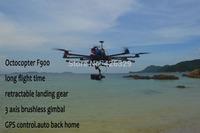 SkyhawkRC F900 Octocopter kit RTF RC aircraft hobby photography model GPS professional drone autopilot VS DJI S1000 Octocopter