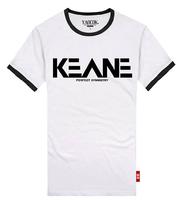 YAOCOK Shake keane cotton lovers rock t-shirt men's and women's T-shirt