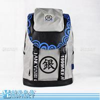 Free Shipping GINTAMA  PVC Backpack  anime student school bag laptop shoulder bag