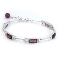 AAA 100% Sterling Silver 925 Jewelry Bracelets & Bangles Silver Bracelet Fine Jewelry Top Quality!! Free Shipping