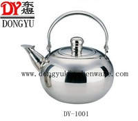 Mirror Polished Stainless Steel China Teapots, Export Gift Kettles Supplier