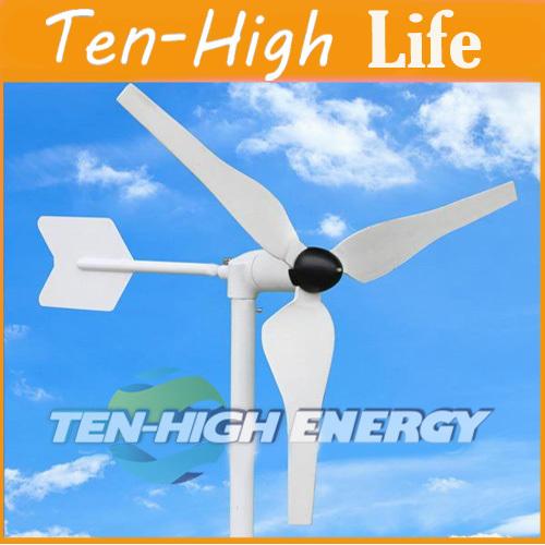 Fedex freeshipping! Wind turbine generator, 50W 12V/24V wind generator,star-up wind speed 3m/s(China (Mainland))