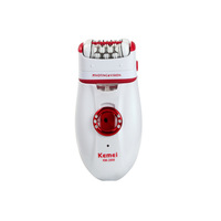 KeMei 2668 Multifunction For Women Depilation Rechargeable Automatic Shaver Epilator For Bikini Face Hair Removal Trimmer