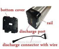 36V 15AH electric bike battery lithium battery 36v bottom discharge port,Aluminum housing great performance