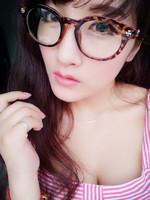 Fashion vintage 2014 male women's glasses metal eye box frames myopia eyeglasses frame