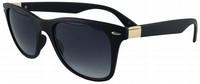 Men's Wayfarer Style Sunglasses Vintage Dark&Brown Lens Anti- UV Protection Oculos De sol Masculino Fashion Sun Glasses ESCC023