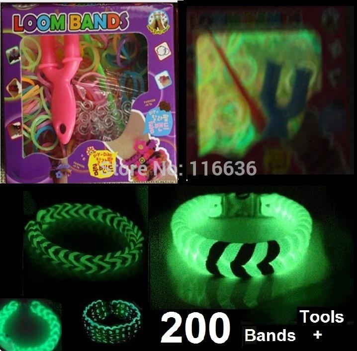Glow in The Dark Loom Bracelets Loom Band Bracelet Glow in