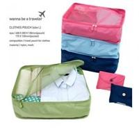 Visual travel bag clothing storage bag set clothes tourism supplies portfolio bag