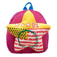 New cute starfish bag kindergarten children, boys and girls cartoon bear baby backpack shoulder bag