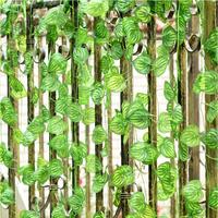 (24 pieces/lot) artificial flowers plastic vine watermelon leaves green plants home decorations